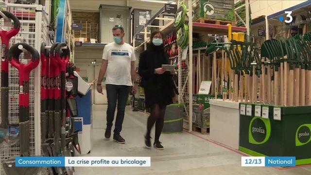 Consommation : après deux confinements, les Français sont de plus en plus bricoleurs