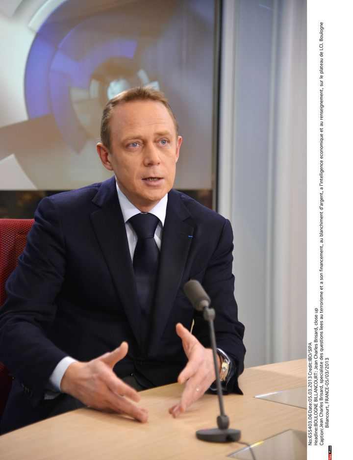 Jean-Charles Brisard, le 5 mars 2015, sur le plateau de LCI. (IBO / SIPA)