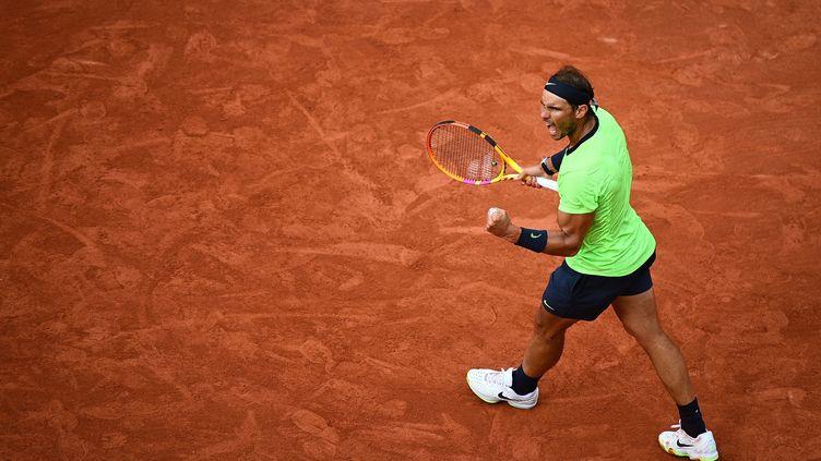 Rafael Nadal en route vers un 14e sacre à Roland-Garros ? (CHRISTOPHE ARCHAMBAULT / AFP)