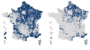 AVANT/APRES. Présidentielle : découvrez l'évolution du vote Le Pen entre les deux tours en gif animé (FRANCEINFO)