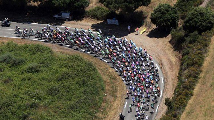 Le peloton du Tour de France (PASCAL POCHARD-CASABIANCA / POOL)