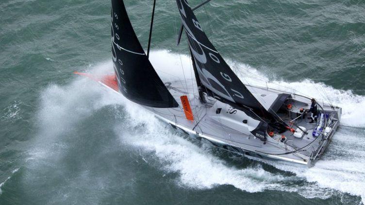 Thomson à bord de Hugo Boss