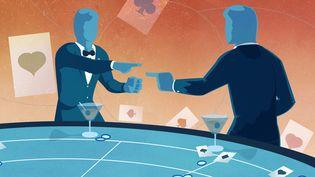 L'espion Dusko Popov pourrait avoir inspiré James Bond, notamment lors d'un épisode mémorable dans un casino, auquel a assisté Ian Fleming, le créateur de la série. (PIERRE-ALBERT JOSSERAND / FRANCEINFO)