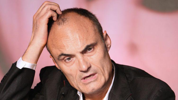 Philippe Val en 2008, à Cannes  (Valery Hache / AFP)