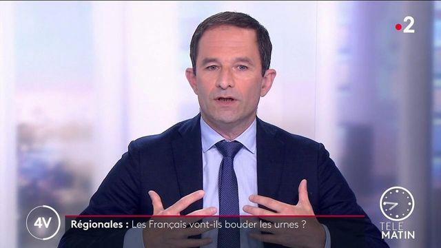Régionales: «La gauche peut peut-être gagner trois régions», affirme Benoît Hamon (Génération.s)o