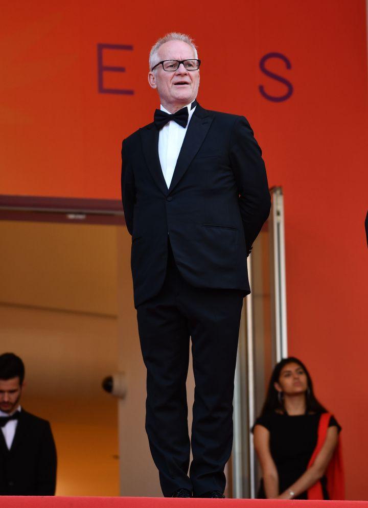 Le délégué général du Festival de Cannes, Thierry Frémaux, lors de la 72e édition. (MUSTAFA YALCIN / ANADOLU AGENCY)