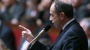 Jean-François Copé, secrétaire général de l'UMP, le 25 septembre 2012 à l'Assemblée nationale. (KENZO TRIBOUILLARD / AFP)