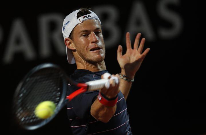 L'Argentin Diego Schwartzman parmi les outsiders à Roland-Garros (CLIVE BRUNSKILL / POOL)