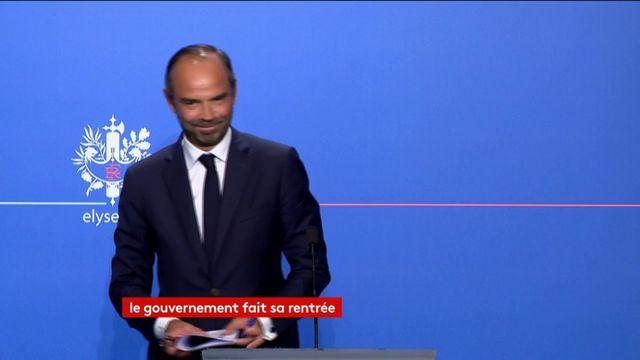 Intégralité de la déclaration du PM Philippe à l'Elysée
