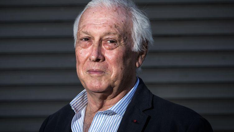 Le président du Conseil scientifique, Jean-François Delfraissy, à Paris le 26 avril 2020. (JOEL SAGET / AFP)