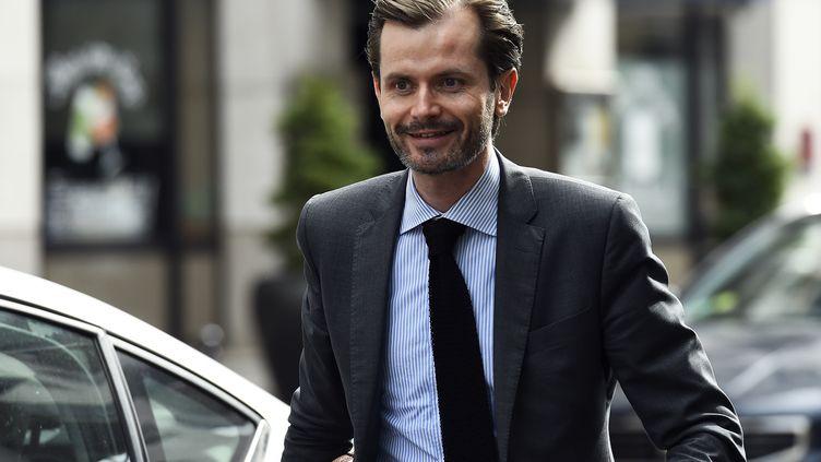 Guillaume Larrivé, député LR en lice pour la présidence des Républicains (le 11 juillet 2017) (BERTRAND GUAY / AFP)