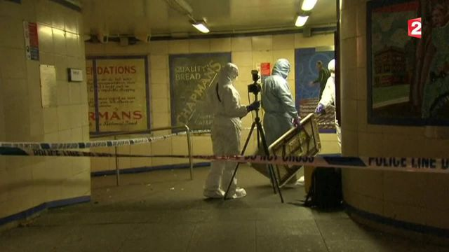 Londres : attaque terroriste au couteau dans le métro