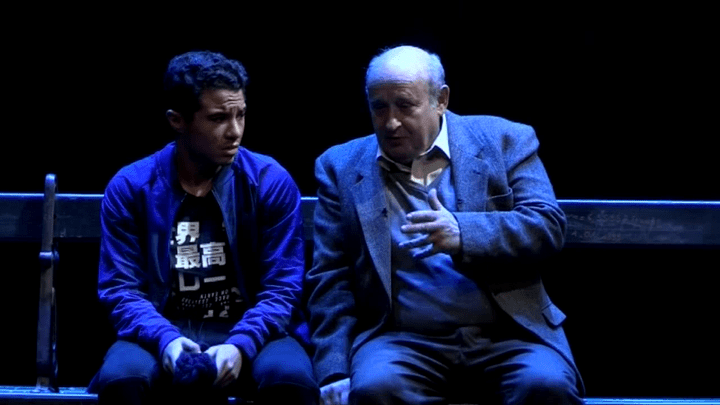 Samy Seghir et Michel Jonasz, dernières répétitions avant la première représentation le 22 février    (Capture d'image France3/Culturebox)