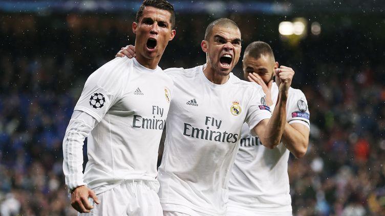 Cristiano Ronaldo exulte en compagnie de Pepe (JAMES MARSH / BACKPAGE IMAGES LTD)