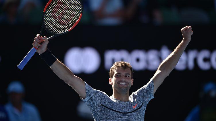 Grigor Dimitrov a un joli coup à jouer dans cet Open d'Australie 2017 (PETER PARKS / AFP)