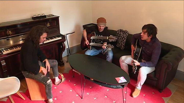 Gosh et ses musiciens.  (Capture d'écran France 3 Lorraine )