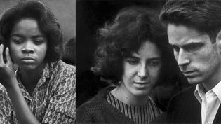 "Dave Heath : à gauche ""Washington Square, New York"", 1960 - A droite ""New York"", 1960  (A gauche et à droite : © Dave Heath / Courtesy Howard Greenberg Gallery, New York, et Stephen Bulger Gallery, Toronto)"