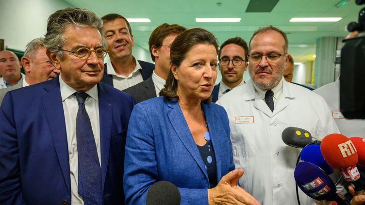 La ministre de la Santé Agnès Buzyn, le 2 septembre 2019, à Poitiers. (JEAN MICHEL NOSSANT / SIPA)