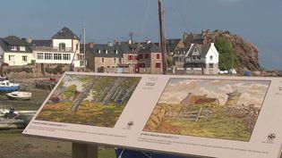 Nature et culture sont les éléments d'un mariage souvent réussi.En Bretagne, sur le sentier du GR 34, il est actuellement possible de découvrir le travail du peintre Henri Rivière. (CAPTURE ECRAN FRANCE 3)