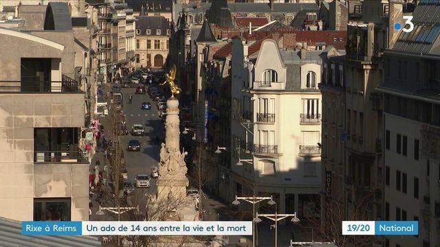Reims : un adolescent de 14 ans grièvement blessé au couteau