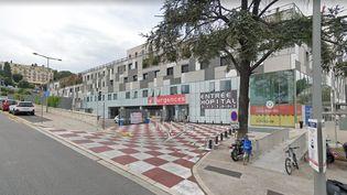 L'entrée des urgences de l'hôpital Pasteur de Nice (Alpes-Maritimes). (CAPTURE ECRAN GOOGLE MAPS)