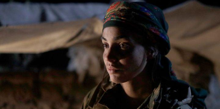 Sarya (Souheila Yacoub) fait partie des femmes engagées au YPJ. (ARTE)