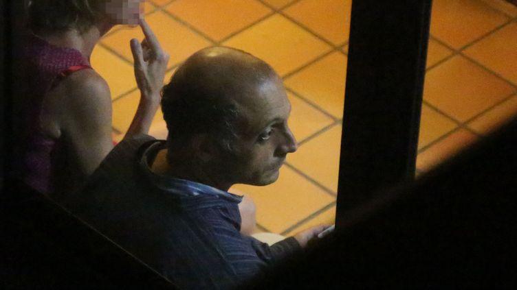 Hakim Karki, juge d'instruction à Mayotte, au tribunal de Saint-Denis (La Réunion), le 7 juillet 2014. (RICHARD BOUHET / AFP)