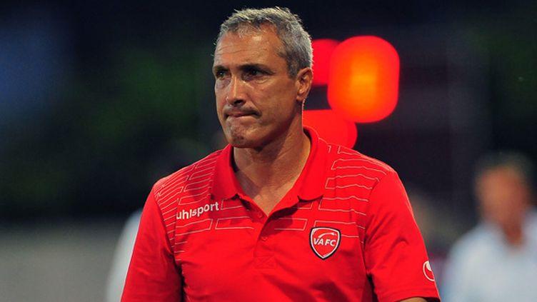 Bernard Casoni, l'entraîneur de Valenciennes, est déçu (DIDIER CRASNAULT / MAXPPP)