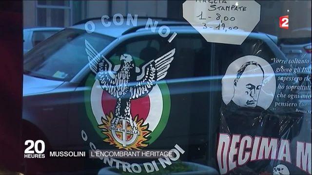 En Italie, l'encombrant héritage de Benito Mussolini fait toujours recette