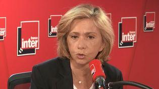 Valérie Pécresse, sur le plateau de France Inter, lundi 25 mars. (FRANCE INTER)