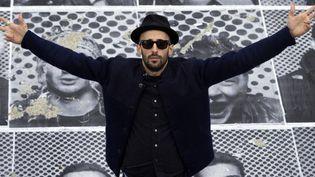 JR-Artiste, amoureux du monde entier  (JOEL SAGET / AFP)