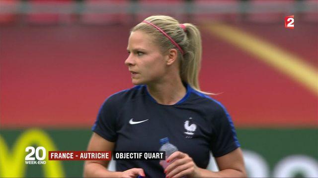 Euro féminin de football : les Bleues face à l'Autriche