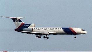 Un Tupolev Tu-154, semblable à celui qui s'est écrasé, dimanche, enmer Noire. (MISHA JAPARIDZE/AP/SIPA / AP)