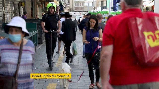 Israël : le masque n'est plus obligatoire dans la rue
