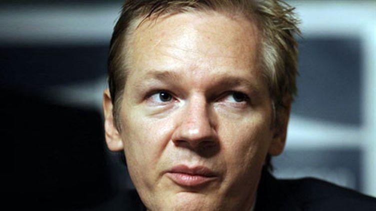 Julian Assange, le fondateur de Wikileaks. (AFP - Fabrice Coffrini)