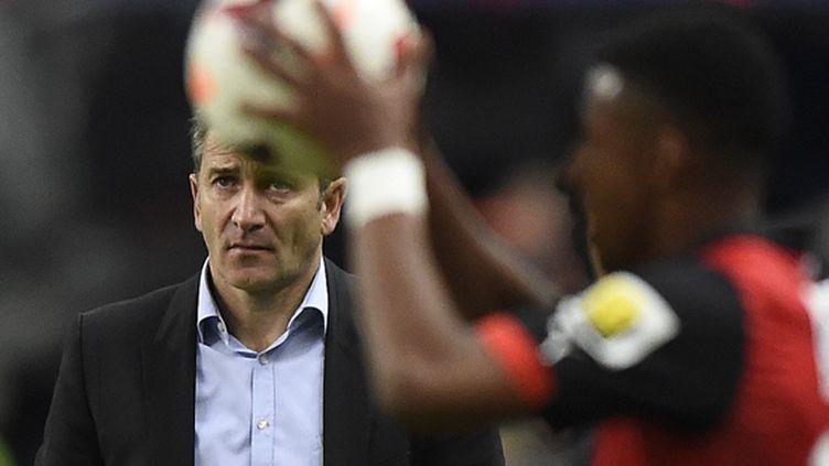 """""""Sincèrement, c'est difficile à expliquer"""", reconnaît Philippe Montanier (FRANCK FIFE / AFP)"""