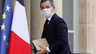 Le ministre de l'Intérieur, Gérald Darmanin, arrive au palais de l'Elysée, le 19 octobre 2020 à Paris. (LUDOVIC MARIN / AFP)