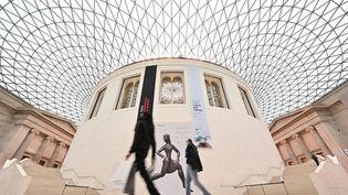 British Museum, Londres, 3 décembre 2020 (JUSTIN TALLIS / AFP)