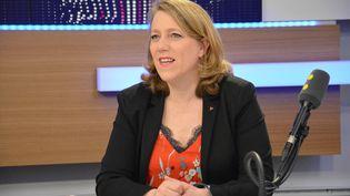 Danièle Simonnet,porte-parole de Jean-Luc Melenchon. (RADIO FRANCE / JEAN-CHRISTOPHE BOURDILLAT)