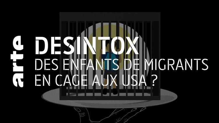 Etats-Unis : non, il n'y a pas eu d'enfants de migrants mis en cage (ARTE/2P2L)