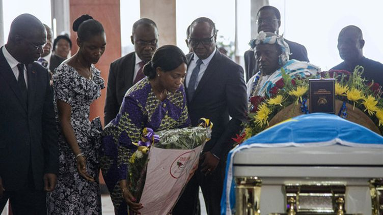 Hommage à Papa Wemba, le 2 mai 2016  (Junior Kannah/AFP)
