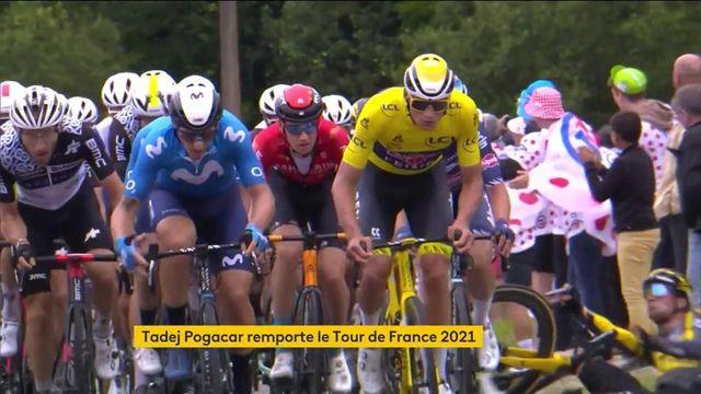 Tour de France : retour sur une édition 2021 riche en émotions avec le triomphe de Tadej Pogacar
