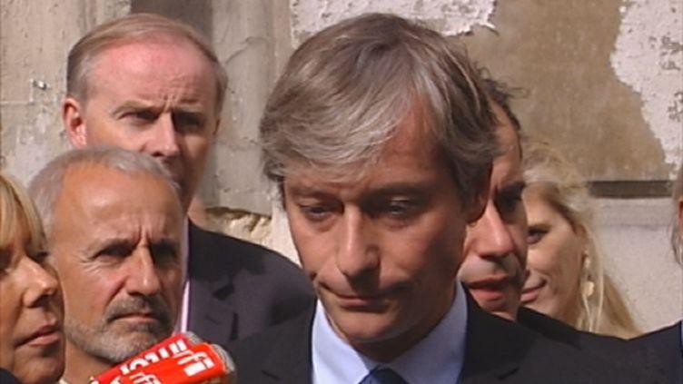 Laurent Hénart Secrétaire général du Parti radical (FranceTV)