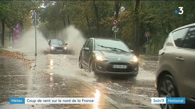 Météo : la tempête Florence a traversé la moitié nord de la France
