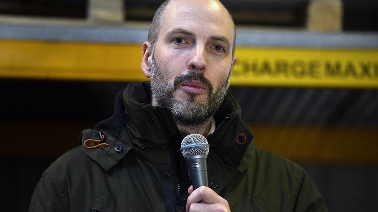 Bart Gruyaert, le directeur général d'Altifort, le 19 décembre 2019, à Strasbourg. (FRANCOIS LO PRESTI / AFP)