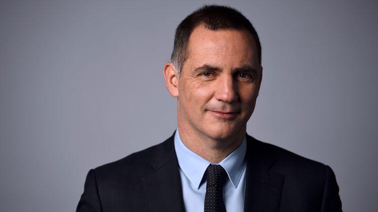 Le président du Conseil exécutif de Corse, Gilles Simeoni, le 24 janvier 2018. (ERIC FEFERBERG / AFP)