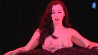 Erotique et comique, le Cabaret New Burlesque séduit le public  (Culturebox)