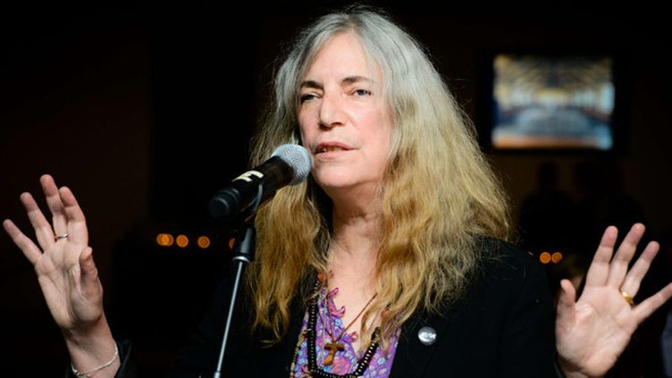 Patti Smith le 25 juin 2014 au MOMA de New York.  (Carly Erickson/BFAnyc/Sipa )
