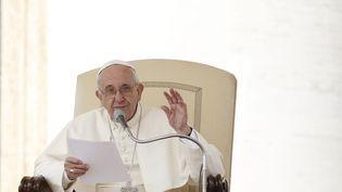 Le pape François, le 9 septembre 2015, au Vatican. (  MAXPPP)