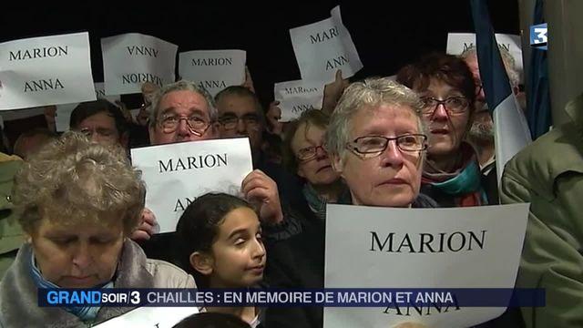 l'hommage de Chailles à deux victimes